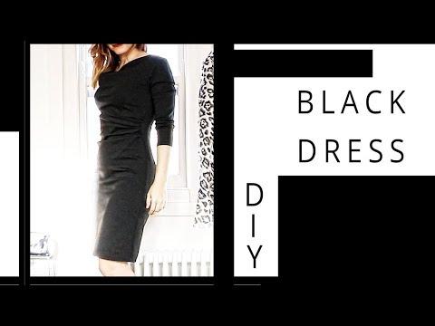 DIY   Black Dress   Szilvia Bodi
