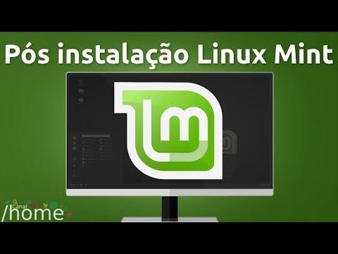 Meu pós instalação Linux Mint 18.3 Cinnamon