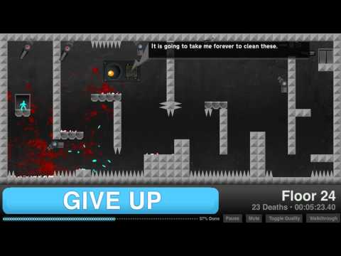 Give Up-Full Walkthrough (All Levels)