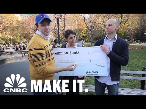 Common Cents: People Try To Fill Out A Check Despite Using Digital Banking Apps | CNBC Make It.