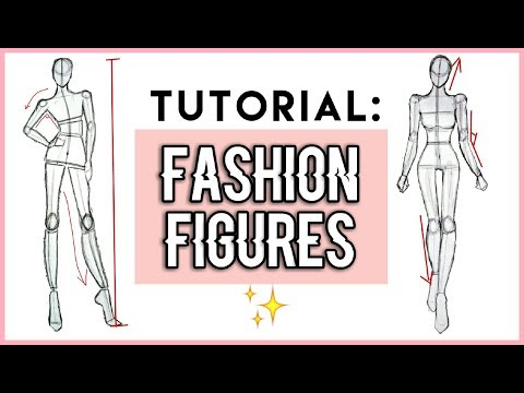 Pt 1 // How to Draw : Fashion Figures For beginners !! 🌹 Fashion illustration | GIRLY SKETCHING