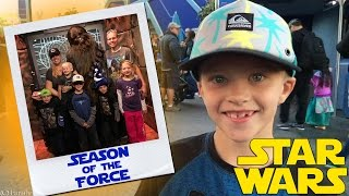 Season of the Force Star Wars at Disneyland Opening Day