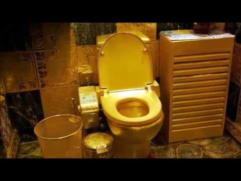 Golden dress and toilet gifted by saudi king to his dauter on her marriage