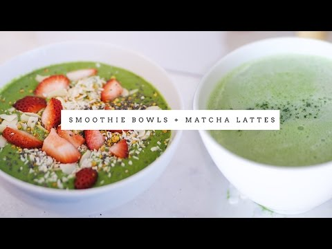 Weekly Vlog | I lost weight eating smoothie bowls + drinking matcha tea!