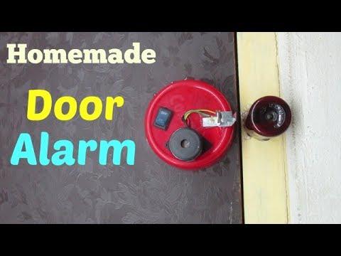 Door Alarm - How to make simple Magnetic Door Alarm