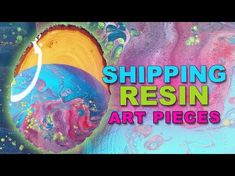 How To Package Resin Painting TIP!