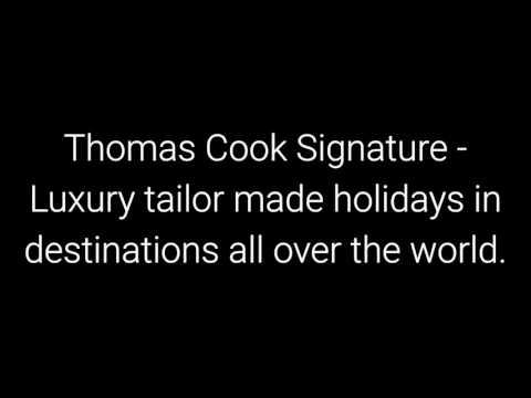 Thomas Cook holidays 2018