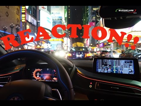 Xxx Mp4 REACTION Video 10 BMW I8 Meets Times Square New York City 3gp Sex