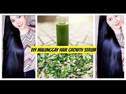 DIY Malunggay-Moringa Hair Growth Serum -Grow Hair faster, Lessen Hair Fall and Get Healthy Scalp