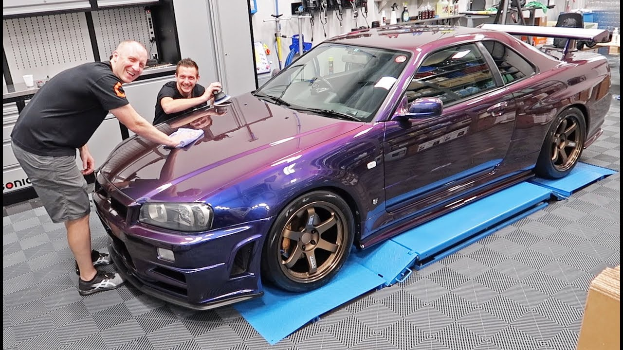 Detailing my R34 GTR - Midnight Purple 3  V-Spec