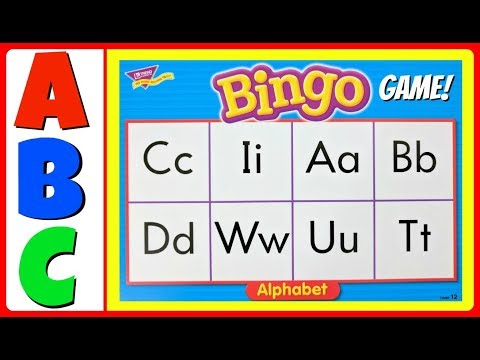Learn ABC Alphabet Letters!  Fun GAMES!  Educational ABC Alphabet Video For Kindergarten, Toddlers,