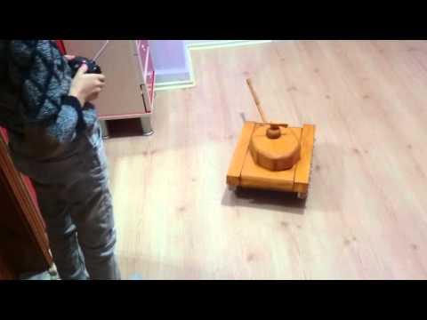 Ahşap (wood) Tank - DEVRIM-2016