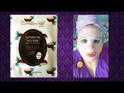 Face Mask Friday: Coconut Oil Infused by The Creme Shop