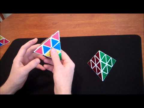 How to solve a Pyraminx (Step 1)