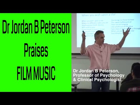 Dr Jordan B Peterson Praises Film Music
