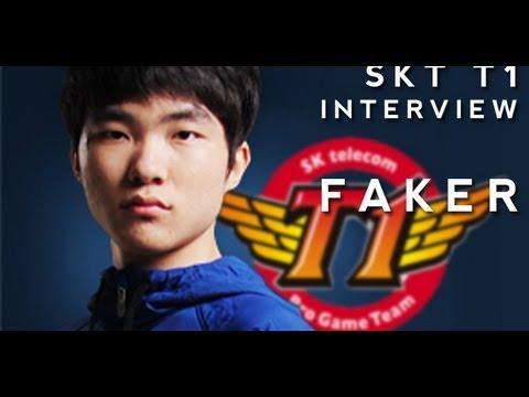 Cloth5 Interview with SKT T1 Mid Laner Faker