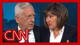 Amanpour presses Mattis: Why didn't you resign when Trump said this?