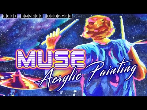 ACRYLIC POP ART inspired by MUSE / DOMINIC HOWARD + POP ART SHOW