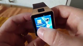 Dz09 Smart Watch Review Dz09 Smart Watch Touch Design Apps Camera And