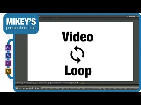 Seamless Video Loop with After Effects tutorial