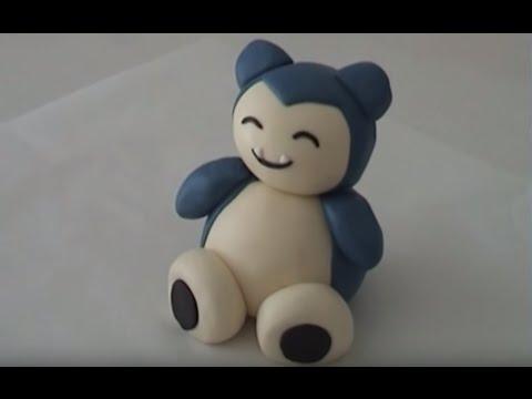 Pokemon cake snorlax cake decorating lesson How To Cook That Ann Reardon