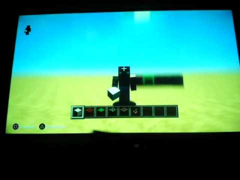 How to make working rocket in minecraft ps3