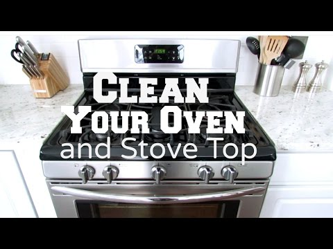 How to Clean Your Oven and Stove Top | Clean with Me