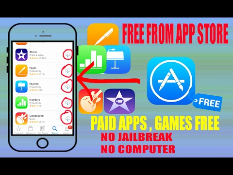 Get Paid Apps , Games FREE from App Store!! No Jailbreak iOS 10-10.2 iPhone iPad 2017