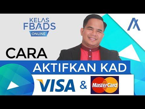 Cara Aktifkan Kad Visa dan Mastercard