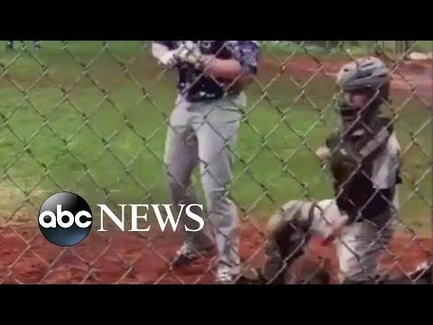 'GMA' Hot List: Inspirational 1-armed catcher goes viral