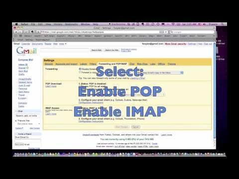 Gmail Forwarding & POP / IMAP