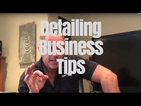 Detailing Business Tips: Lessons from the front line of professional detailing