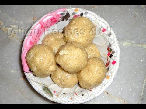 How to Make RAVA LADDU Recipe in Telugu