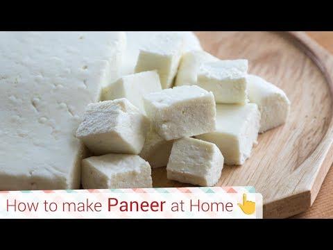 How to make Paneer & Malai Paneer at home 2 ways -Paneer Cubes recipe, chenna recipe, cottage cheese