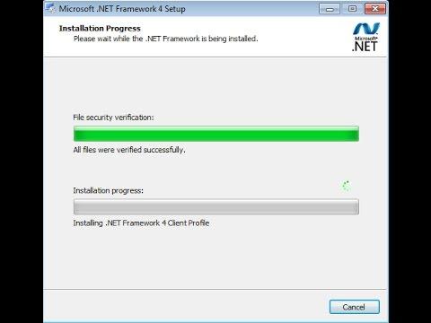 .NET framework 4 stuck forever, not installing (FIXED Error)