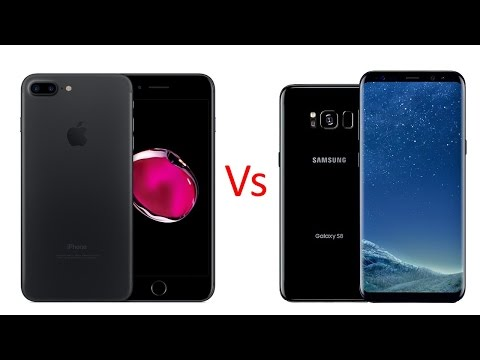 Samsung S8 Plus Vs iPhone 7 Plus | Which one Best? Camera, Speed test & More