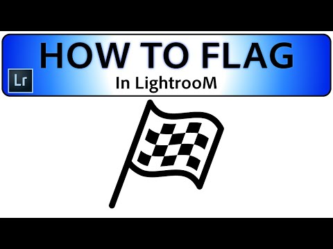 The best way to Flag images in Lightroom