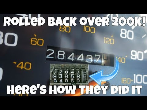 They Rolled Back OVER 200,000 MILES on THIS CAR! Here's how you can avoid Odometer Rollback Scams