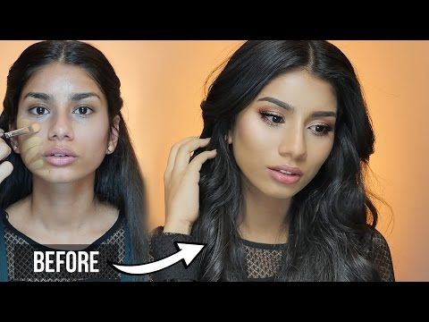 How to look Super Gorgeous! with less makeup