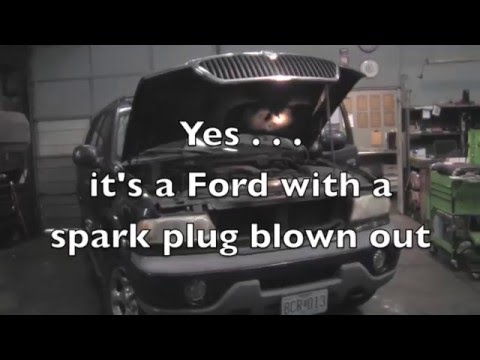 Spark Plug Hole Repair 1