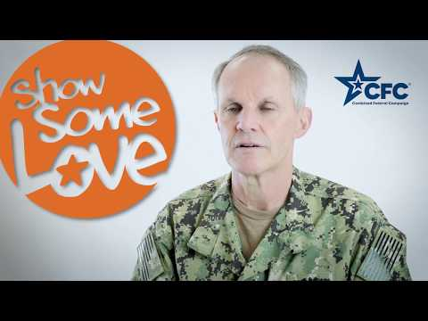Combined Federal Campaign, 7th Fleet 2017 with VADM Phil Sawyer and Fleet CMC Benjamin Howat
