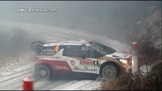 Best of WRC Montecarlo 2014 | Drift, Crash & Maximum attack [HD]