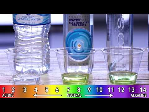 Are You Paying for Acidic Water? | Bottled Water PH Test