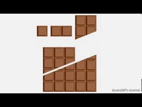 Infinite Chocolate Trick (explained simple)