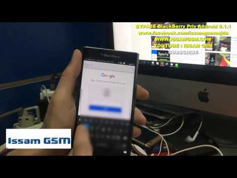BlackBerry Priv STV100-4,DTEK50 ,DTEK60 ,REMOVE FRP BYPASS GOOGLE ACCOUNT ,