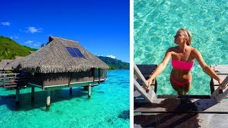 FIRST TIME in an Overwater Bungalow..