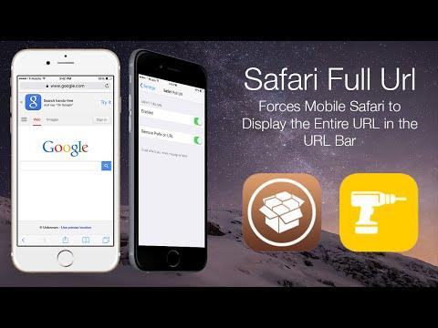 Safari Full URL: Forces Mobile Safari to Display the Entire URL in the URL Bar