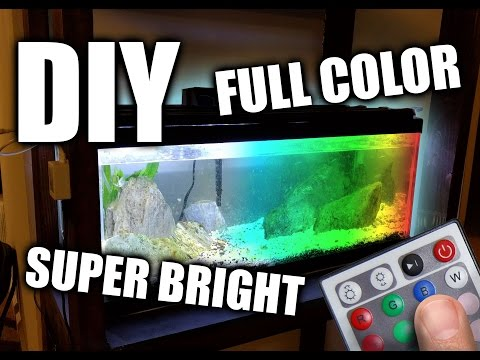 DIY LED Aquarium Grow Light Hood