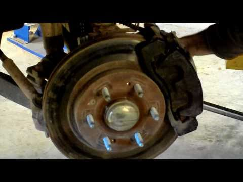 2007 Chevy Silverado Z71 Front Hub Bearing Replacement
