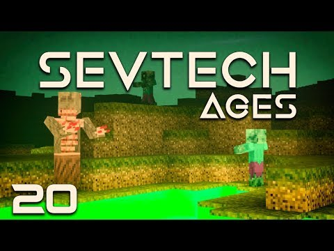 SevTech: Ages EP20 The Abyssal Wasteland + Transmutator